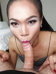 Ladyboy Book - Puffy Asshole Creampie